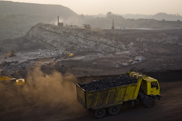Coal Mining In India's Jharia